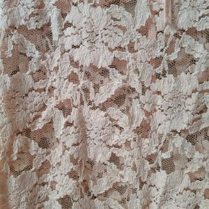 Forever 21 Tops - NWT- Blush Lace Top